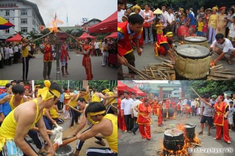Lễ hội bánh chưng, bánh dày truyền thống ở Sầm Sơn