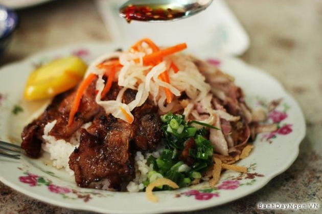Cơm tấm ngon ở Sài Gòn