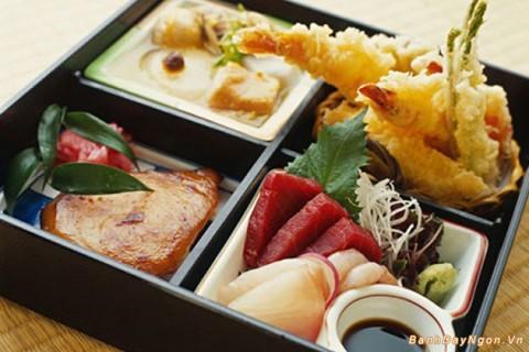Suất ăn tốt cho sức khỏe và đủ năng lượng của người Nhật