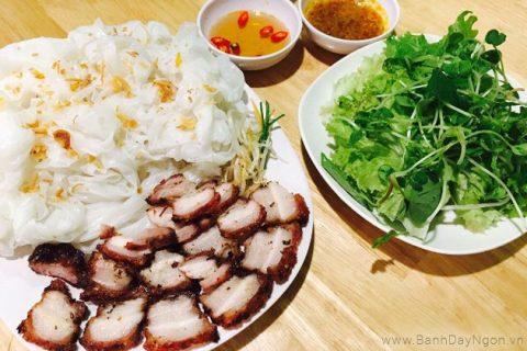 Bánh ướt là một trong những món ăn nổi tiếng Quảng Trị